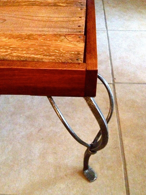 Mesa de café rústico - Madera Pallet