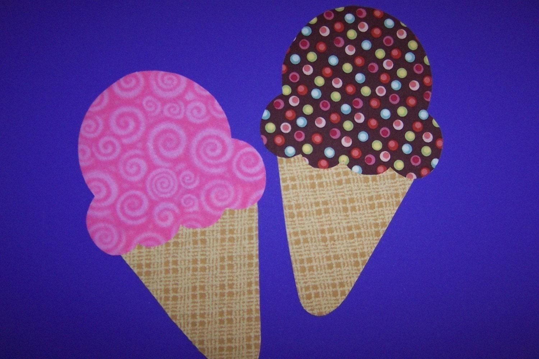 Paper Ice Cream Cone Template Ice Cream Cone Template