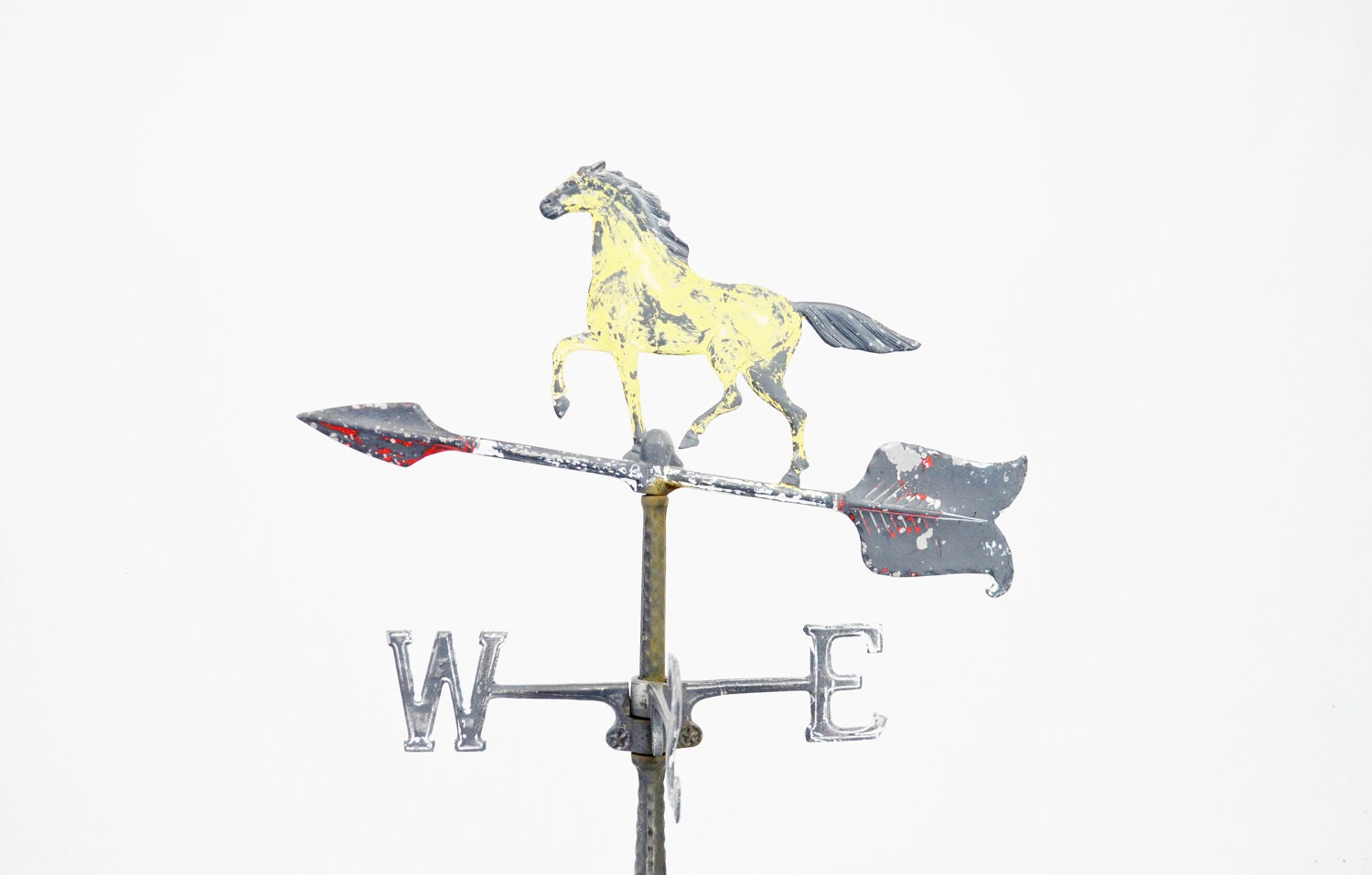 Vintage Whitehall Painted Horse Weather Vane - LuccaBalesVintage
