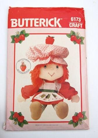 Doll Pattern Shortcake Strawberry Free Patterns