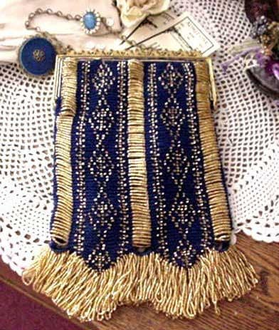 KNITTED BEADED BAG PATTERN 1000 Free Patterns