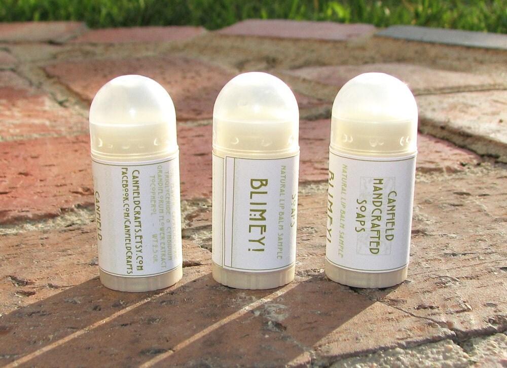 Lime Flavor Shea and Cocoa Butter Lip Balm - Mini Size