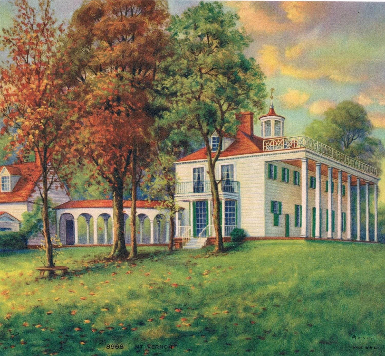 Mount Vernon Calendar Art