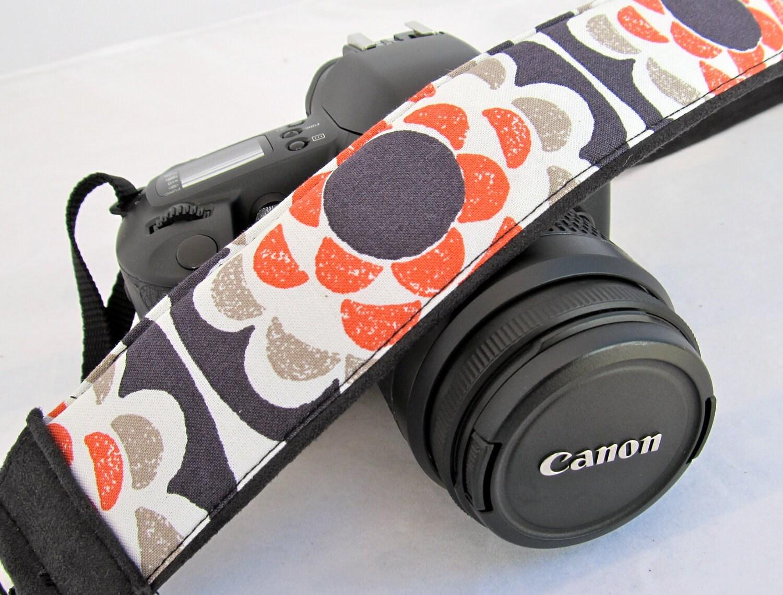 dSLR Camera Straps-Penny Wheel Flowers