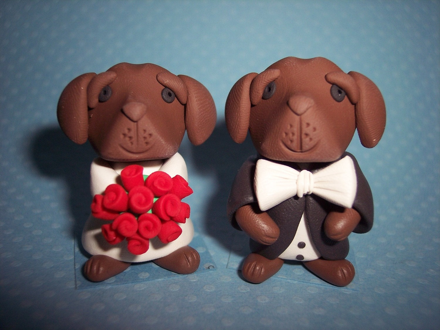 chocolate wedding cake toppers