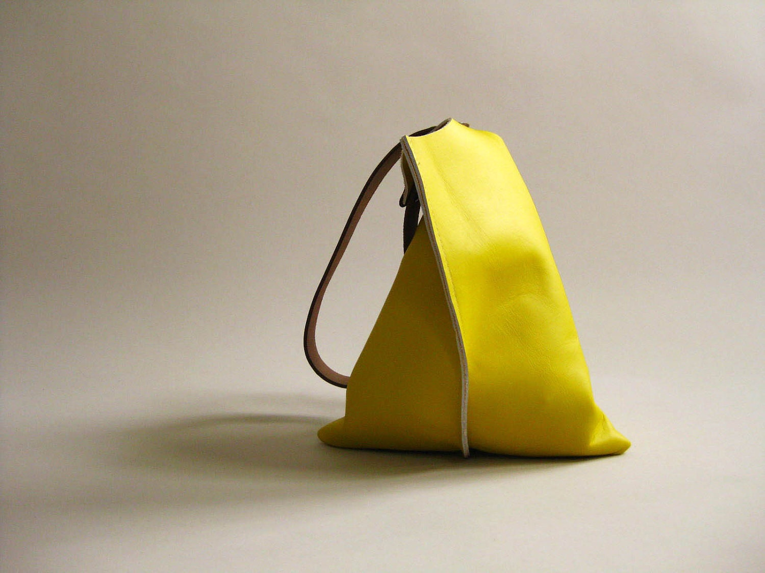 13in Wedge NEW - Primary collection - Lemon yellow leather