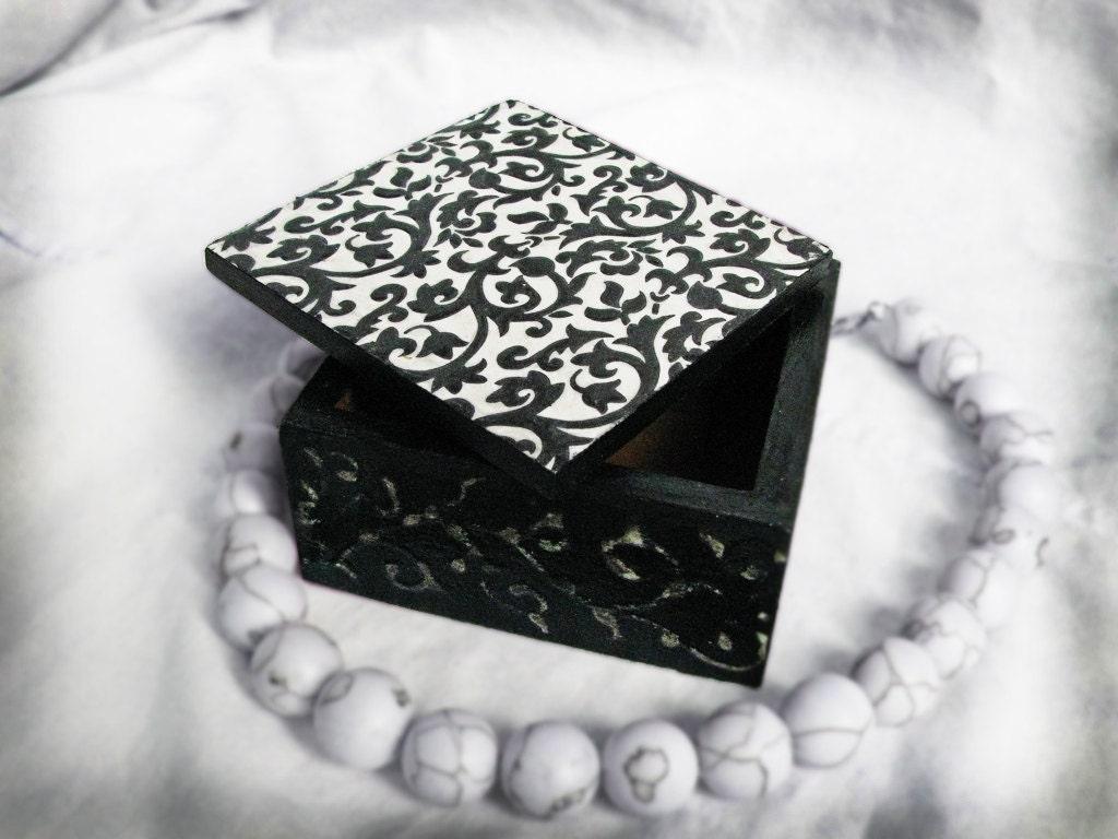 Черный и Белый сон коробки с объемными элементами на верхнем доставки по всему миру