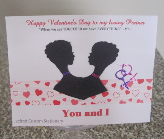 Lesbian Valentine's Day Card