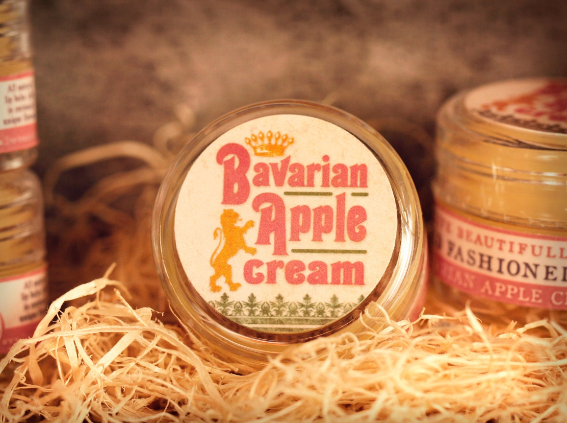 All Natural - Bavarian Apple Cream - Lip Balm Jelly - Tangy Apples with Cream