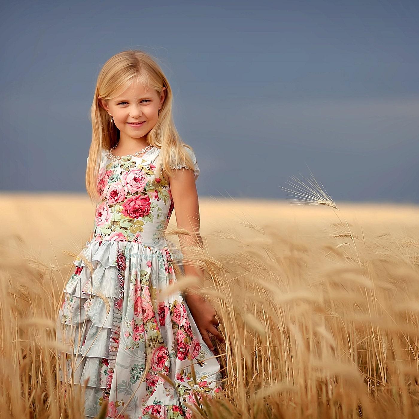 Flower Girls Dress, Easter, Layaway Plan A  60 day 3 payments. Formal Little Girls Dress In Ruffles, 18 months, 2t - 4t, 5 - 8