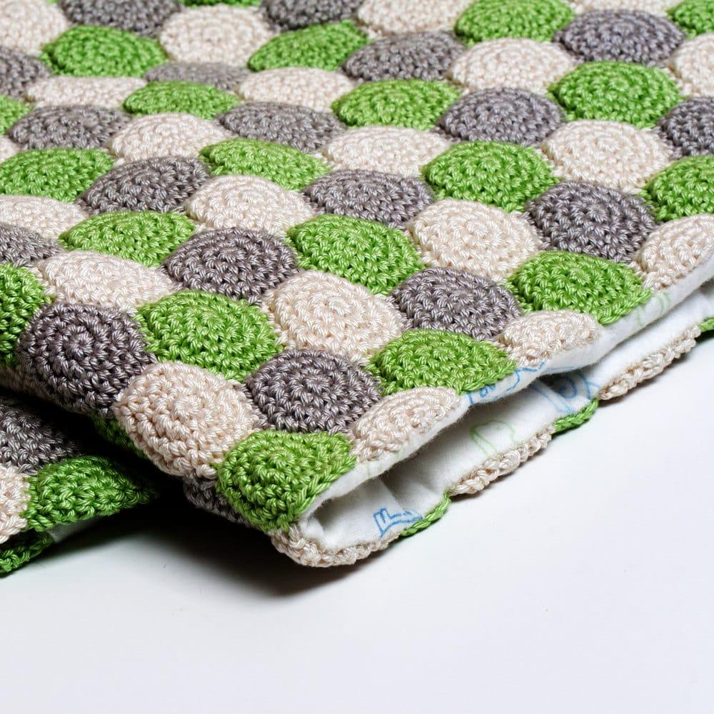 motifli bebek battaniye modeli
