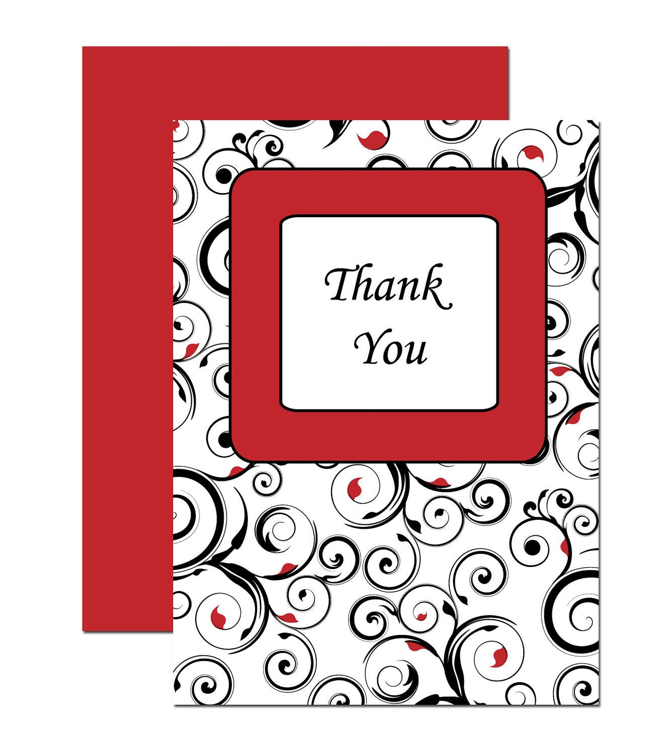 fancy  thank you cards