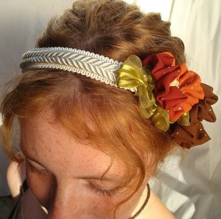 Wedding headpiece For the Unique Fall Wedding From pjlacasse