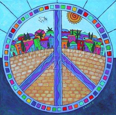 Peace Mandala-Print Reproduction