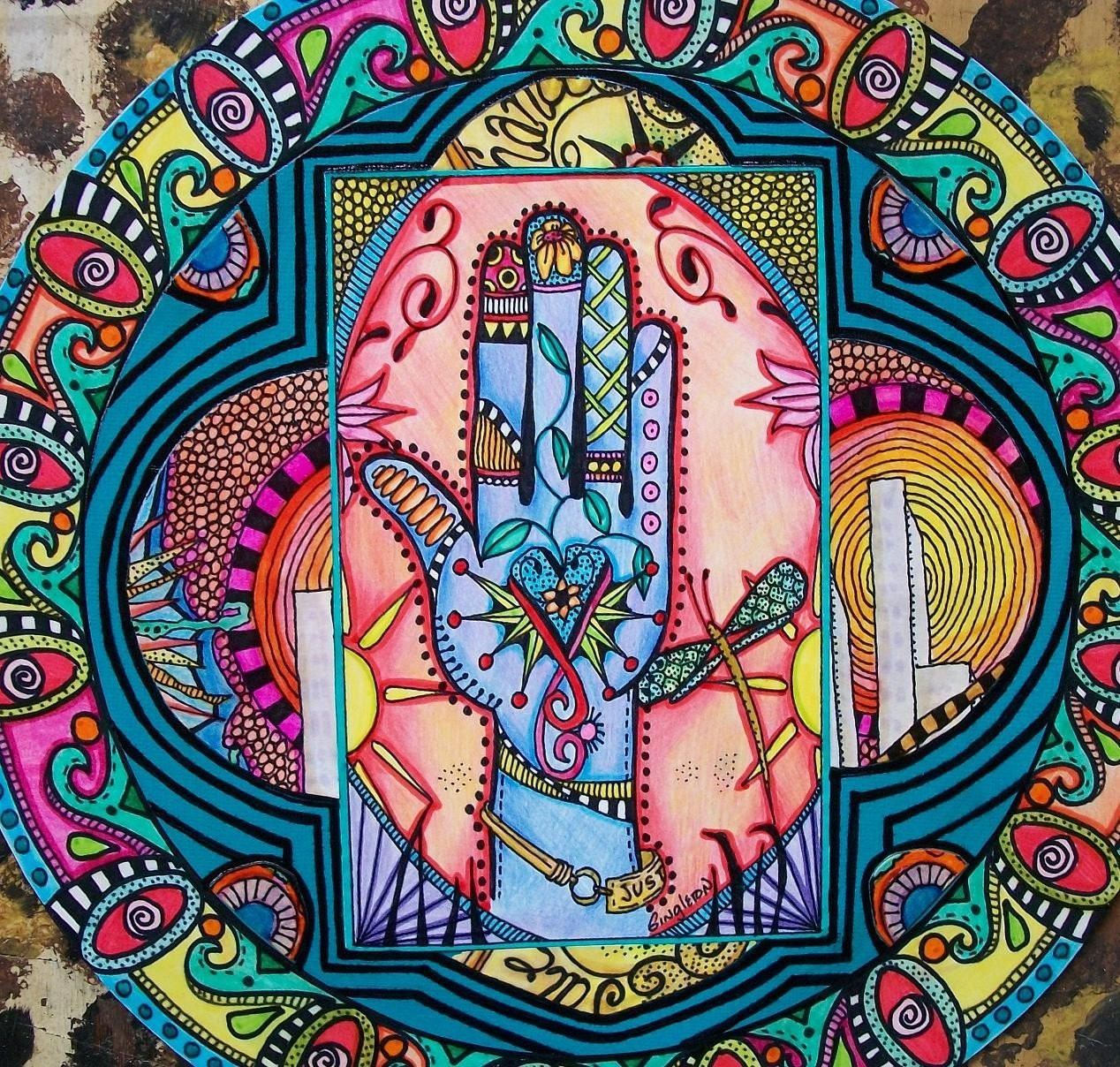 Art hippie et psychédélique - Page 4 Il_570xN.202948467
