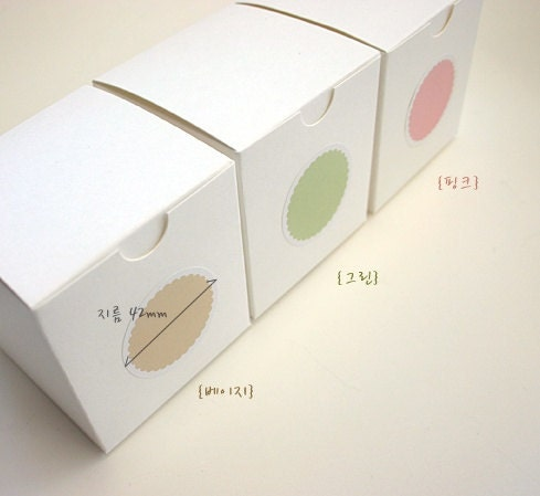 Pastel Simple Stickers,3sheets