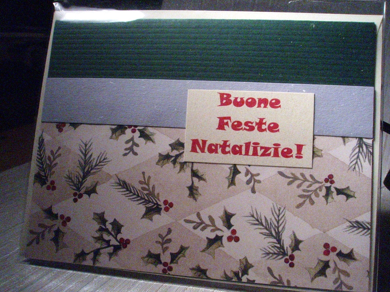 Buone Feste Natalizie - Italian Christmas Card