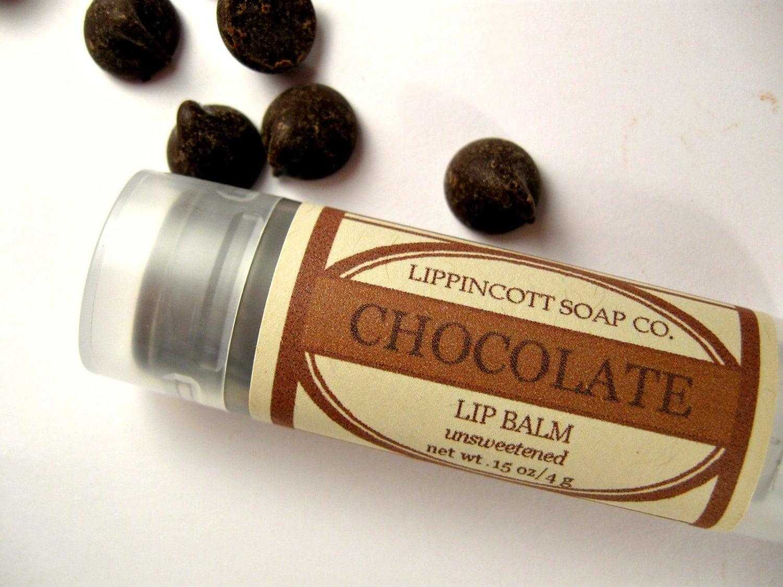 Chocolate Lip Balm - Unsweetened