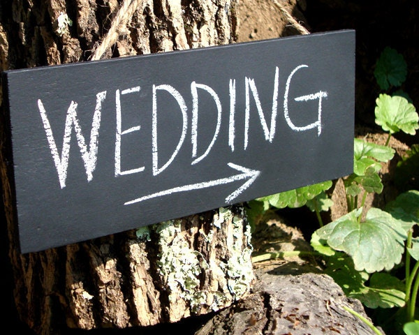 Chalkboard Signs Wedding Decorations Small Wedding Sign Set of 3