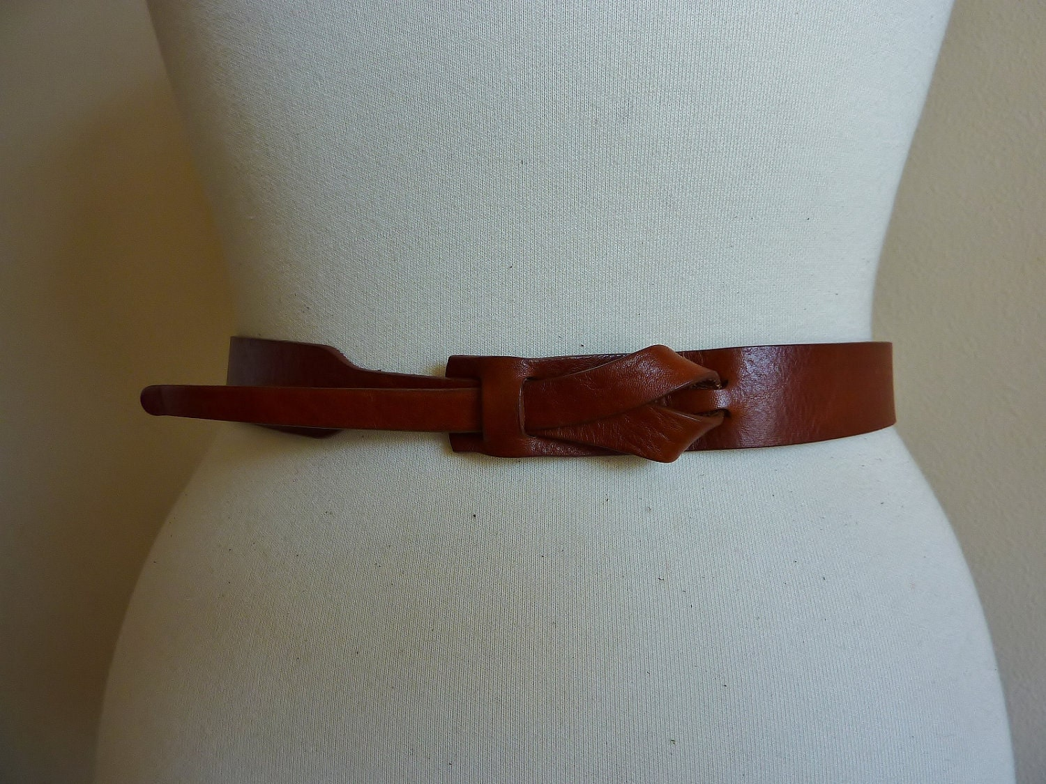 Skinny Leather Belt in Camel by Muse 1 inch by MuseBelts on Etsy from etsy.com