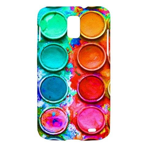 New Paintbox Watercolor Samsung Galaxy S II Skyrocket Hardshell Case Cover Samsung Galaxy S2 Skyrocket Case Watercolor Palette