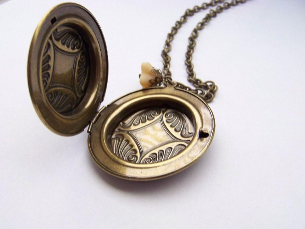 Antique Brass Locket