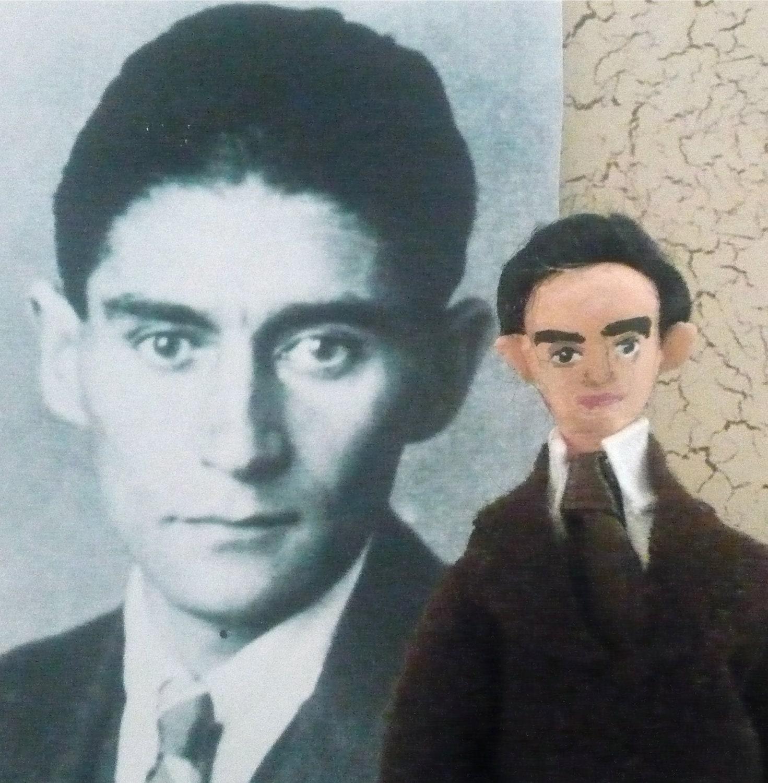 Miniature Doll Franz Kafka Author and Writer