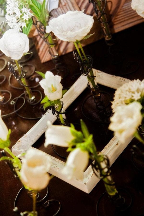 Wedding Place Card Holder SALE Rustic Black Wedding Favor Elegant