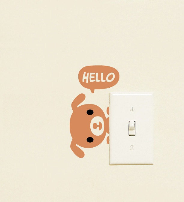 Hello Puppies - Wall Decals Sticker
