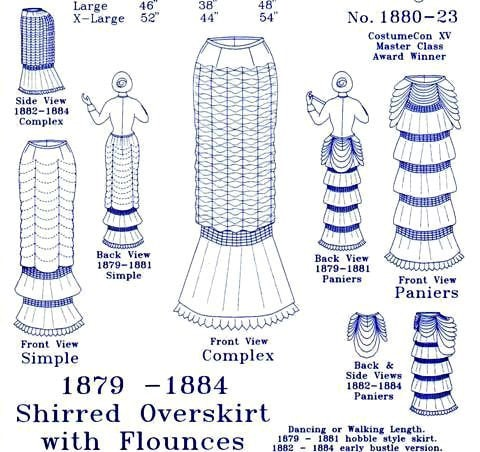 Victorian and Old West Clothing: Sewing Patterns