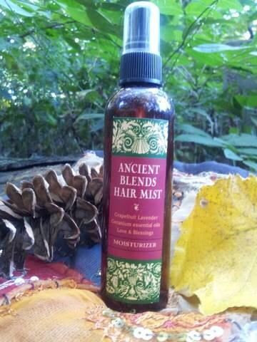 Ancient Blends Re-hydrating Moisturizing Hair Oil Mist... 4ozs