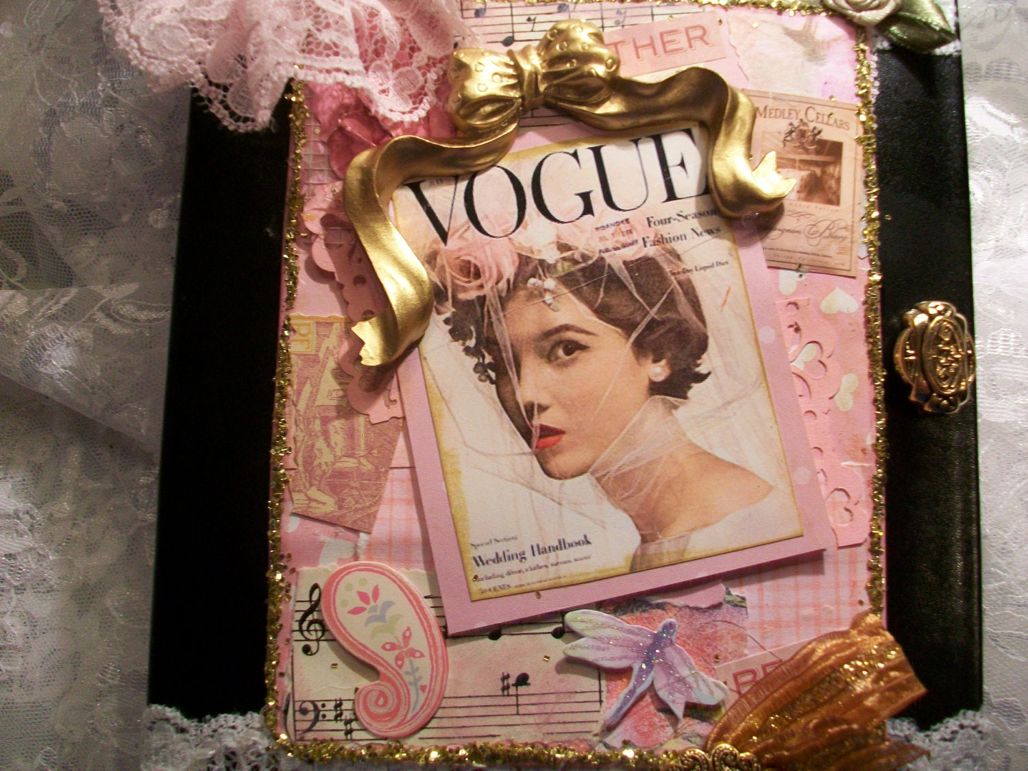 Vogue Cover Bride Journal, Notebook, Keepsake