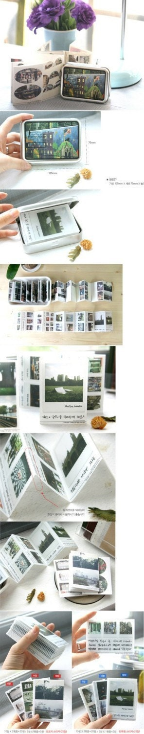 New York Holic Photo Sticker Set (50 sheets, 165 pieces)