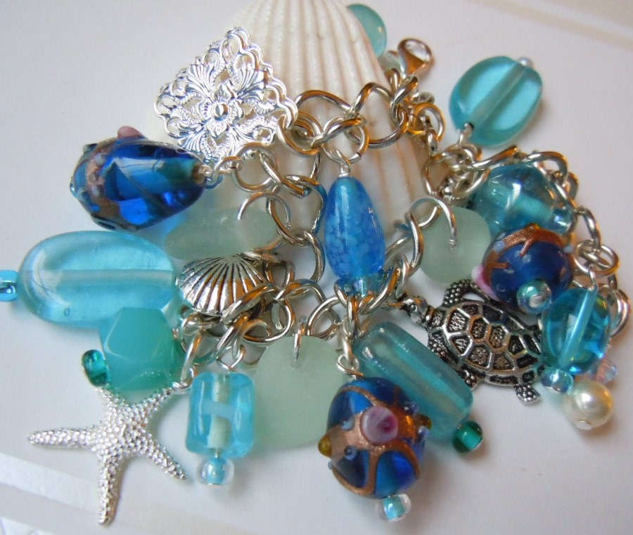 CHARM BRACELETS ON SALE - CRAFTSNSCRAPS - JEWELRY, HANDMADE CLAY