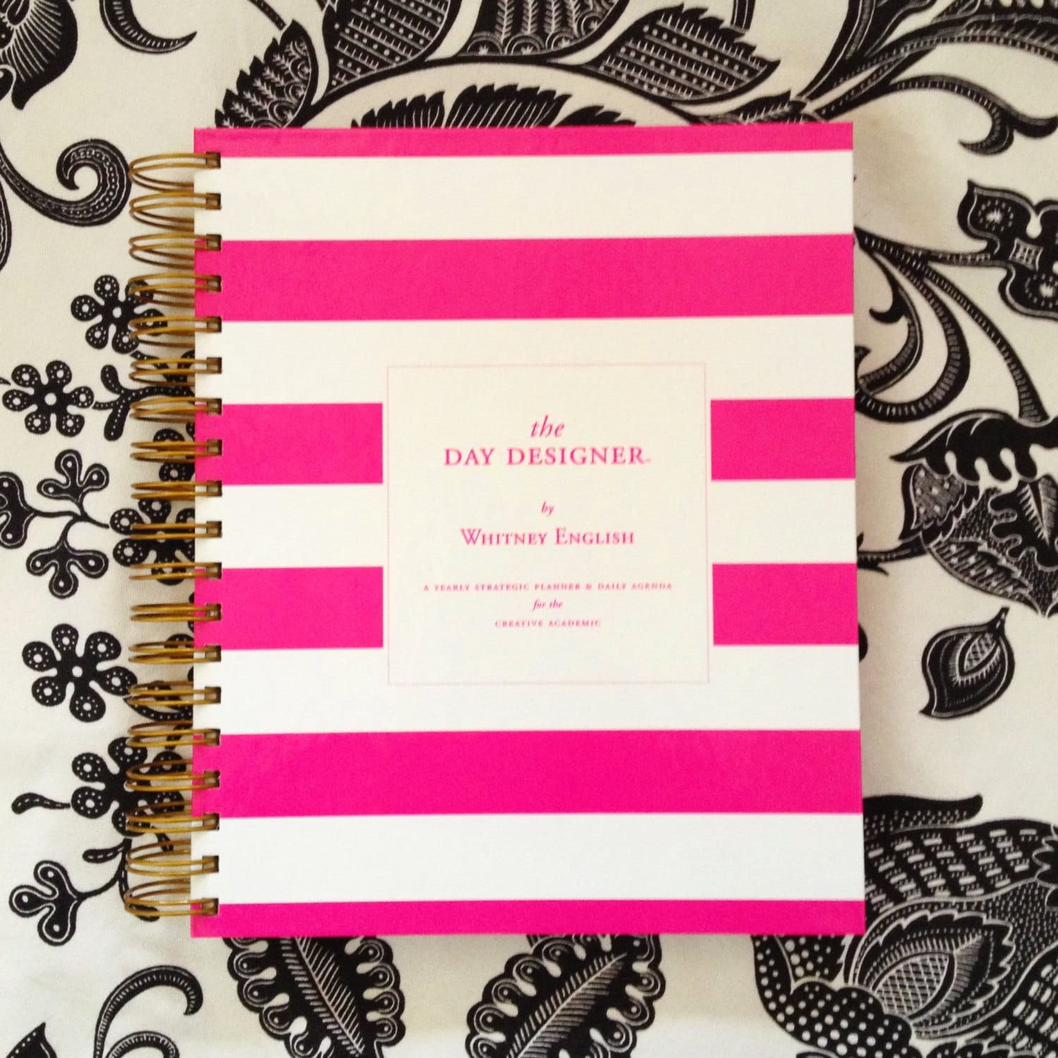 CLEARANCE - PINK 2013 Day Designer - A Strategic Planner & Daily Agenda for the Creative Entrepreneur