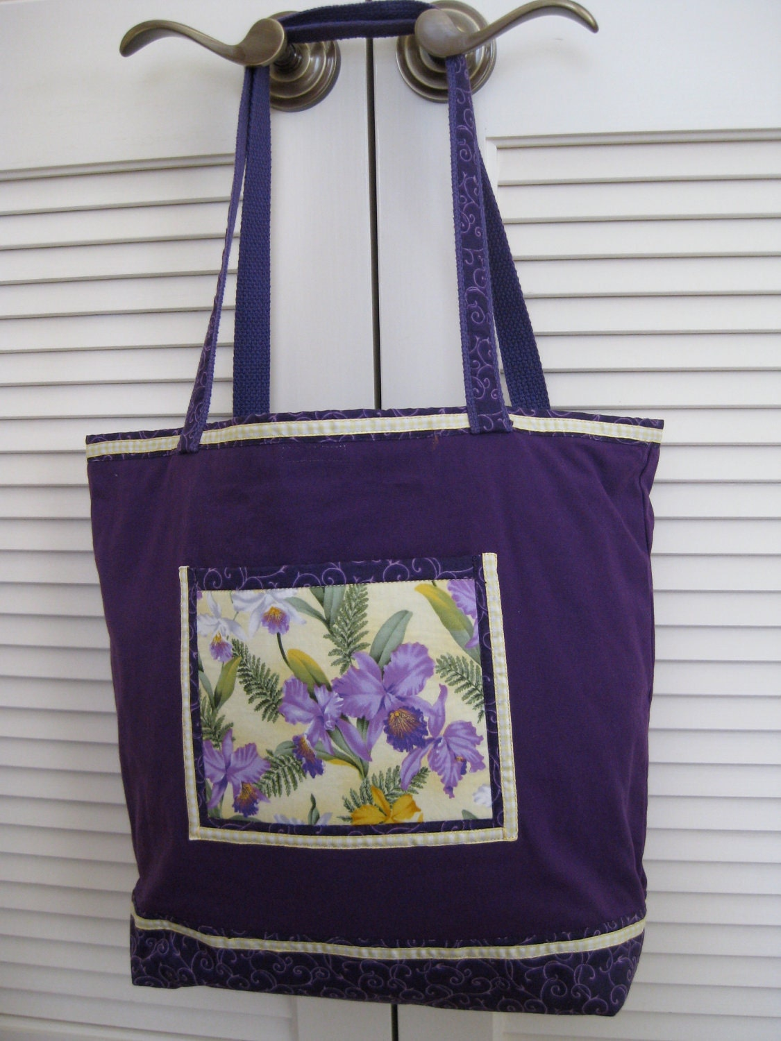 Purple Orchid Tote