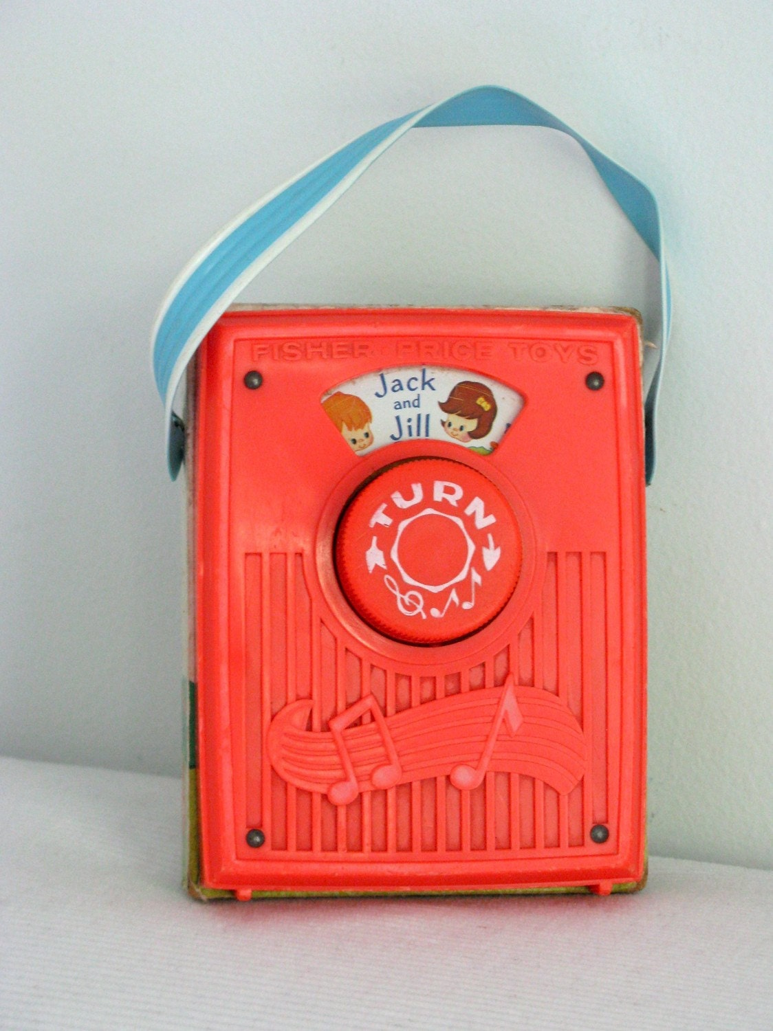 Vintage 70's Ficher Price Radio - Jack and Jill