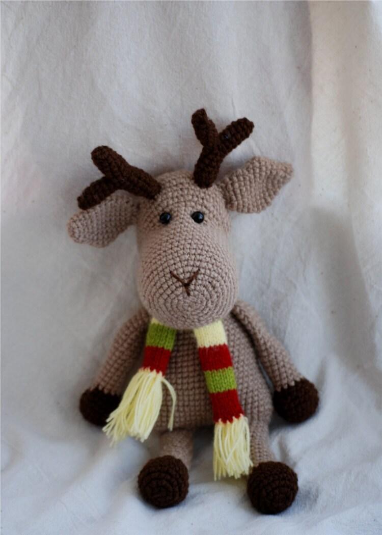 Christmas Reindeer Amigurumi : super cute amigurumi reindeer :) Crochet - Christmas ...