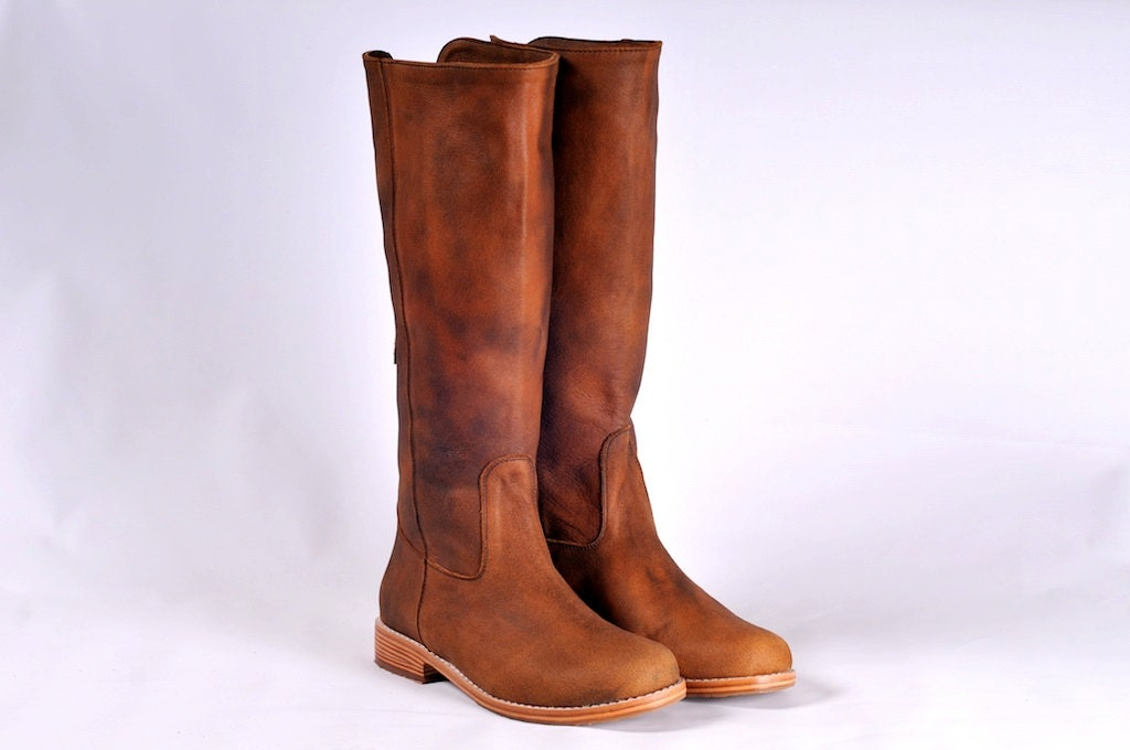 WANDERLUST. Riding boots / Womens leather boots / sizes US 4-13. Available in different leather colors. - BaliELF