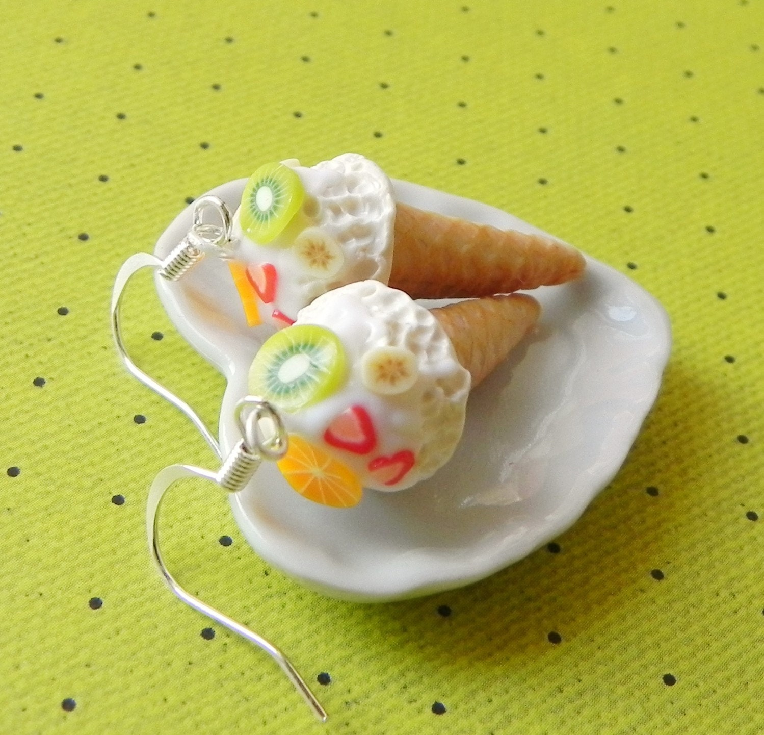 unique food jewelry with polime clay | make handmade ...