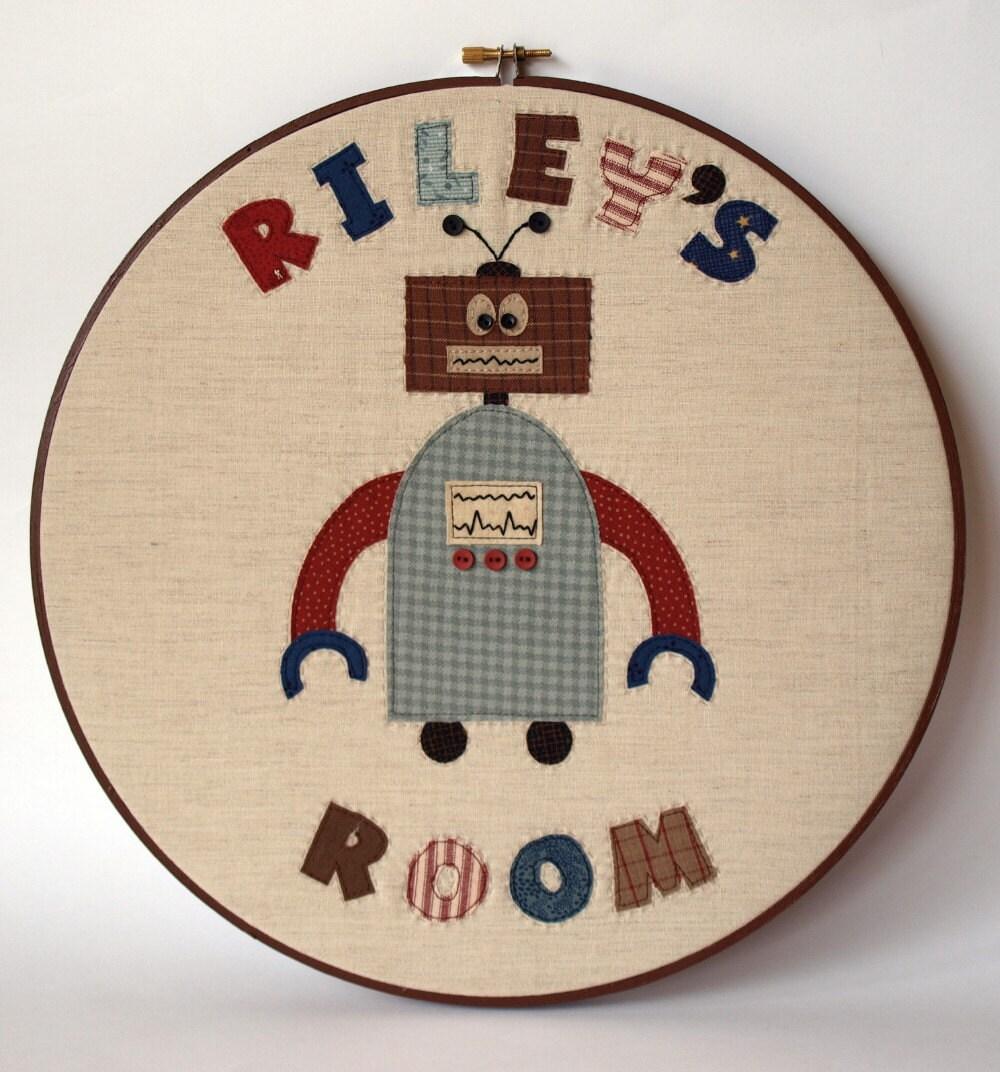 Kids Room Name Sign PDF Sewing Pattern