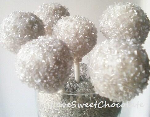 Silver Bells Cake Pops