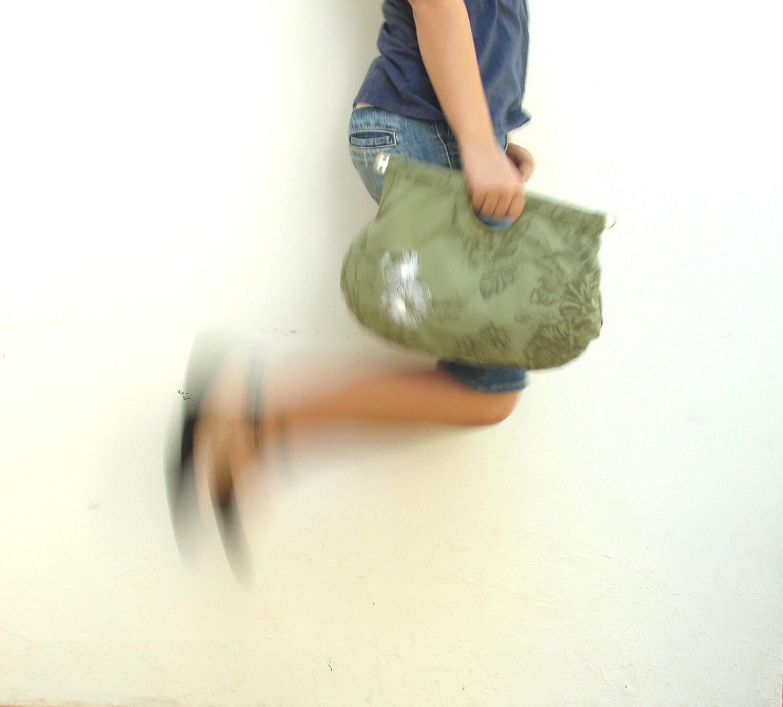 La Fleur Bag - Khaki Green