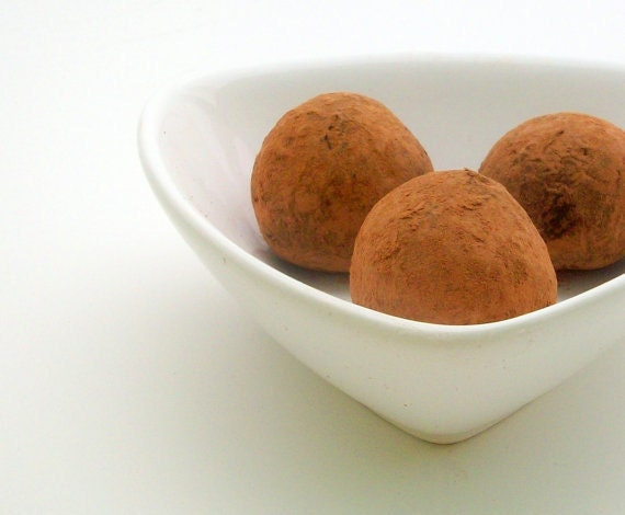 ONLY AVAILABLE AFTER The Summer - Dark Chocolate Pumpkin and Spice Truffles (16 count)