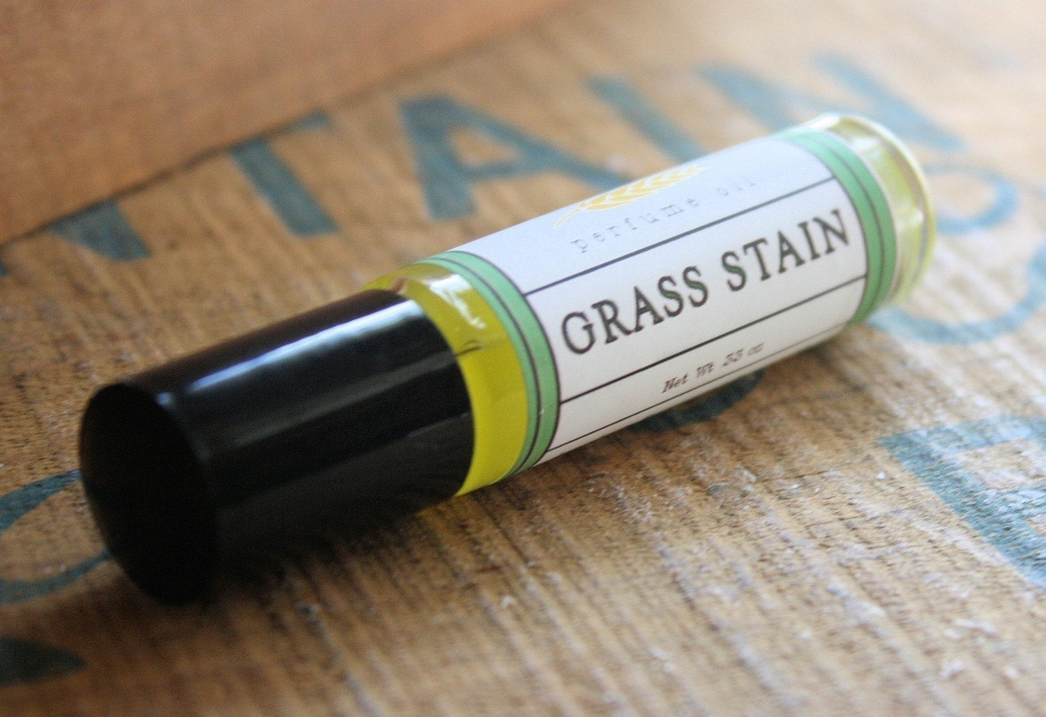 Grass Stain Perfume Oil Coconut Hemp Roll On - LongWinterSoapCo