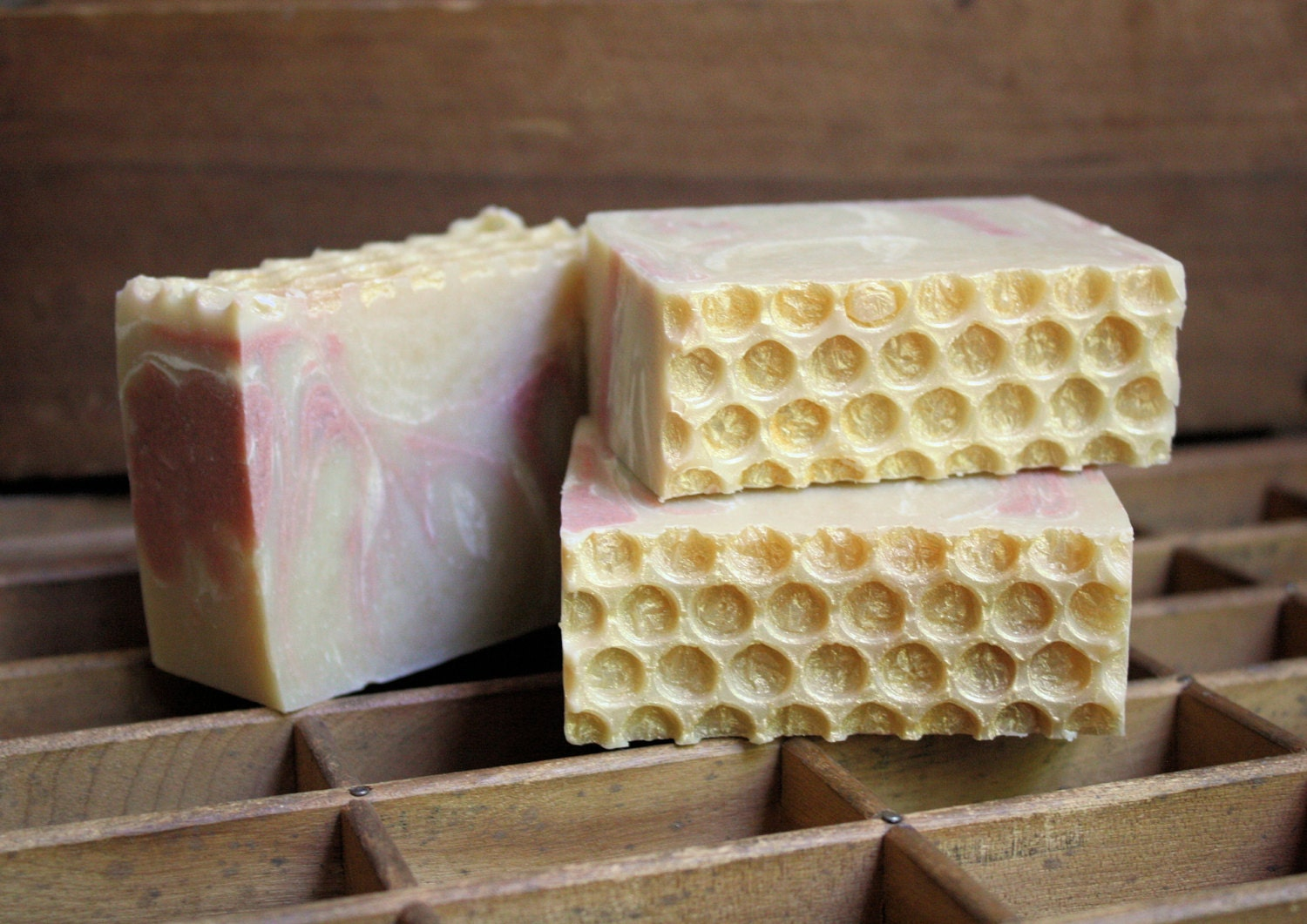 Ever After Cold Process Soap with Honey - LongWinterSoapCo