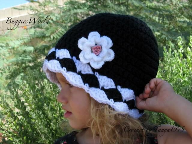 قبعات كروشيه روعة للاطفال..... il_570xN.269200403.j