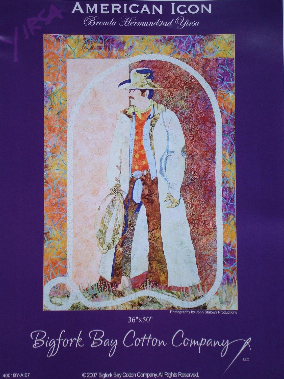 American Icon Cowboy Quilt Pattern - Jackiesewingstudio