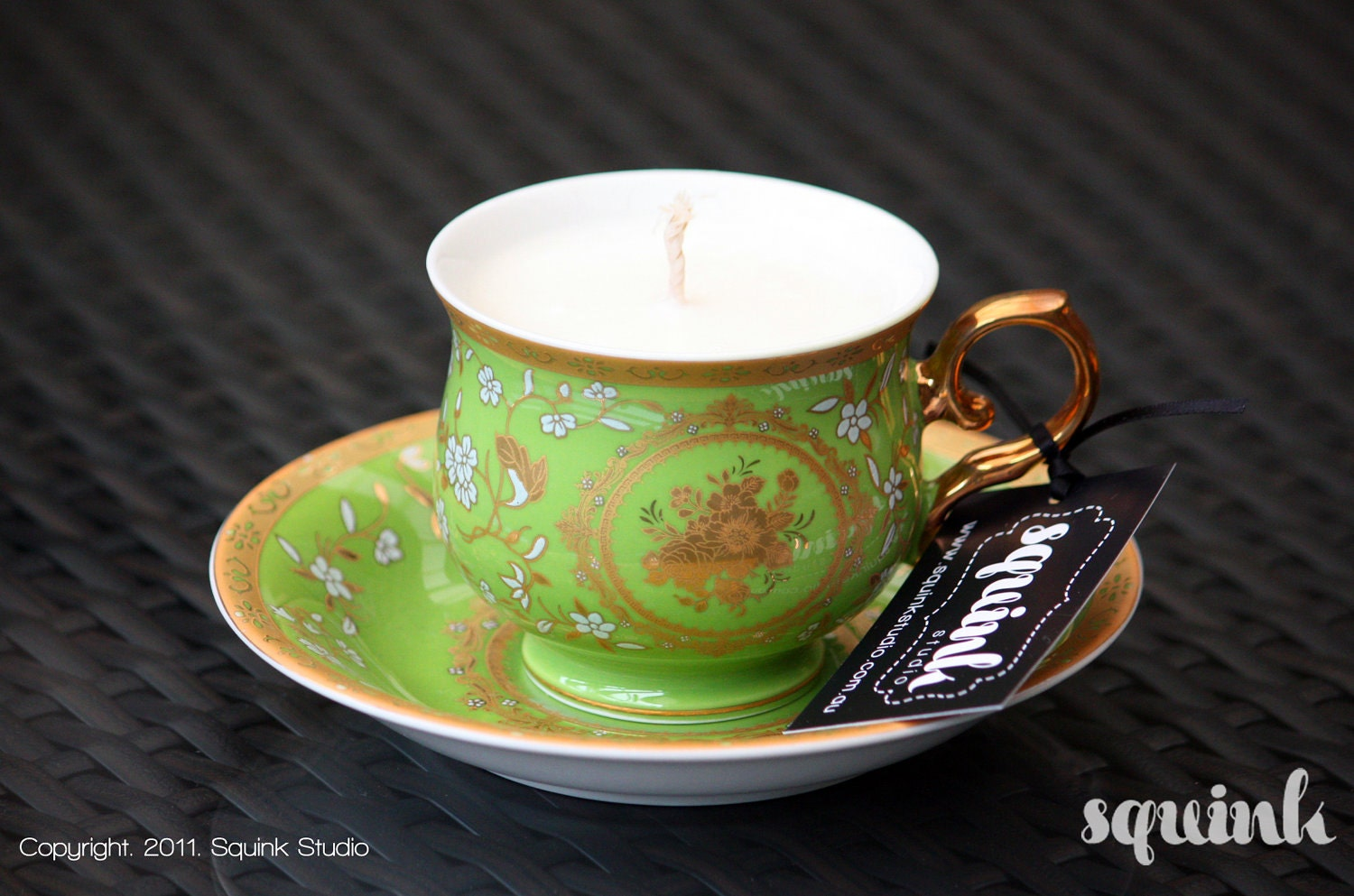 Soy Teacup Candles - Limited Christmas Edition - Triple Scented -Lime & Passionfruit
