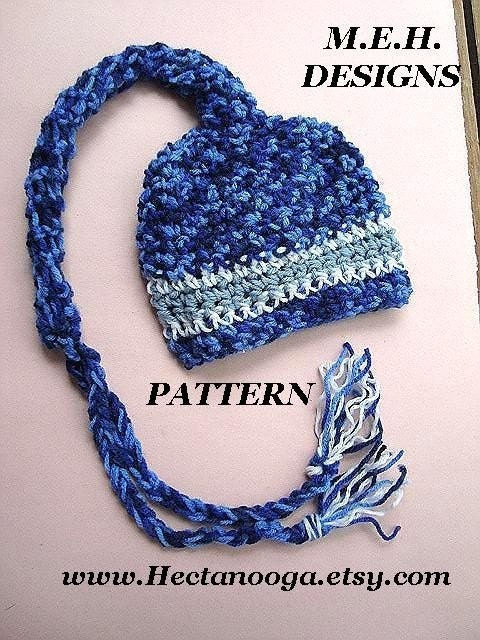 Amazon.com: Crochet pattern beginners hat includes 4 sizes from